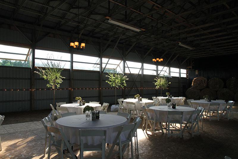 Indoor Barn Wedding Venue | Simcoe County