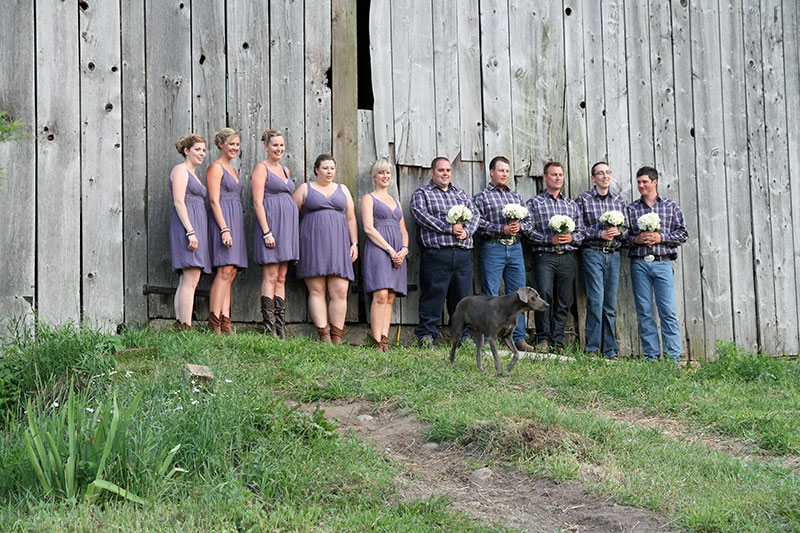 A wonderful rustic backdrop for your wedding