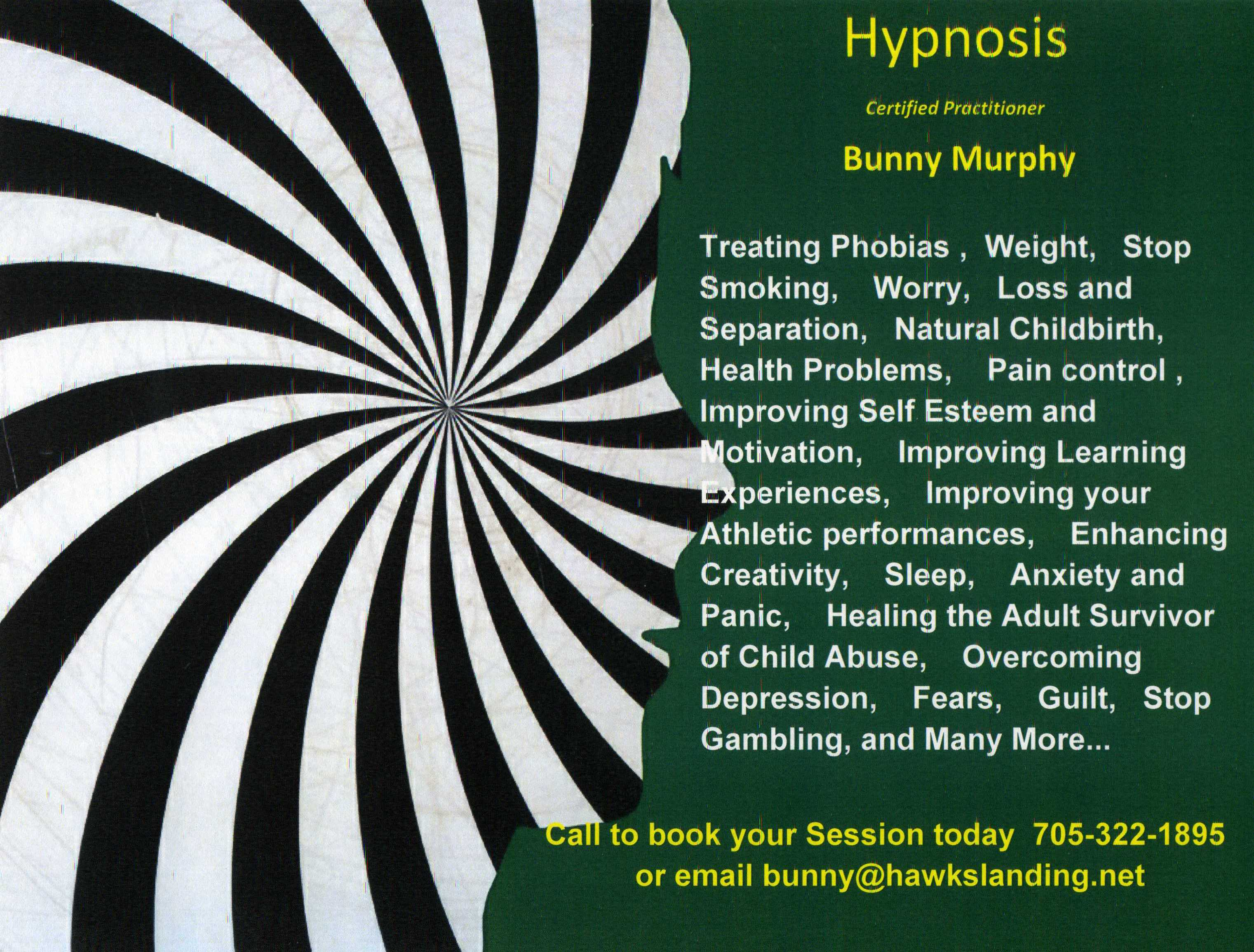 Book a Hypnosis Therapy session with a certified practitioner