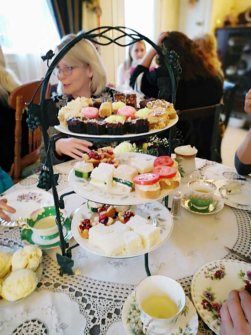 A beautiful collection of classic Victorian High Tea foods